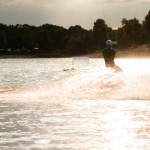 Wakeboard am Blauen See in Garbsen